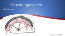 PowerPoint Templates - Time Management A Widescreen