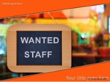 PowerPoint Templates - Wanted Staff