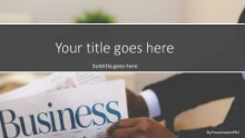 Business Section News Widescreen
