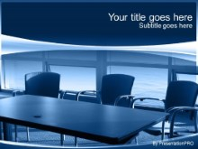 Download conference room blue PowerPoint Template and other software plugins for Microsoft PowerPoint