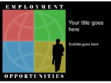 Download employment opp PowerPoint Template and other software plugins for Microsoft PowerPoint