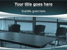 PowerPoint Templates - Empty Conference Room