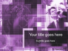 Download globaltalk purple PowerPoint Template and other software plugins for Microsoft PowerPoint