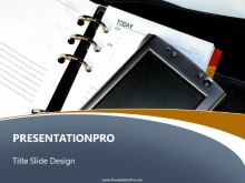 Download pda day planner PowerPoint Template and other software plugins for Microsoft PowerPoint