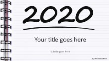 2020 Notebook Widescreen
