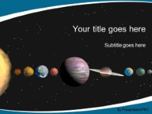 PowerPoint Templates - Astronomy Solar System