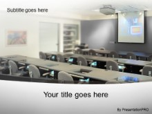 Download training room gray PowerPoint Template and other software plugins for Microsoft PowerPoint