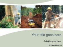 Download deforestation PowerPoint Template and other software plugins for Microsoft PowerPoint