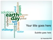 Download earth day collage PowerPoint Template and other software plugins for Microsoft PowerPoint