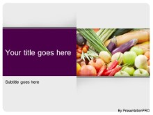Download food variety PowerPoint Template and other software plugins for Microsoft PowerPoint