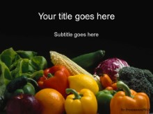 Download veggies2 PowerPoint Template and other software plugins for Microsoft PowerPoint