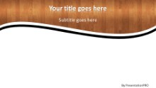 Hardwood Widescreen PPT PowerPoint Template Background