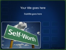 Download self worth PowerPoint Template and other software plugins for Microsoft PowerPoint