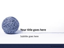 Download string ball PowerPoint Template and other software plugins for Microsoft PowerPoint