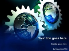 Download gears globular PowerPoint Template and other software plugins for Microsoft PowerPoint