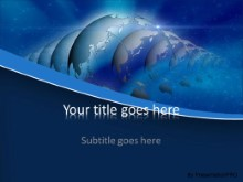 Global Reflection PPT PowerPoint Template Background