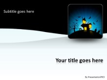 Nightmare House PPT PowerPoint Template Background