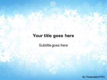 Download christmas snow flakes PowerPoint Template and other software plugins for Microsoft PowerPoint