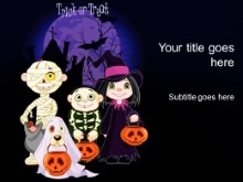 Download halloween kids PowerPoint Template and other software plugins for Microsoft PowerPoint