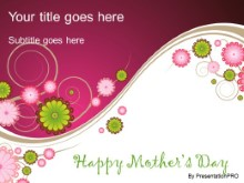 Download mothers day 02 PowerPoint Template and other software plugins for Microsoft PowerPoint