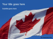 Download canada spirit PowerPoint Template and other software plugins for Microsoft PowerPoint
