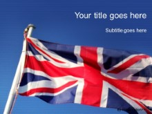 Download uk british flag PowerPoint Template and other software plugins for Microsoft PowerPoint