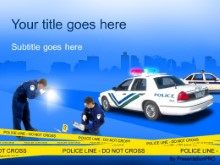 Download crime scene PowerPoint Template and other software plugins for Microsoft PowerPoint