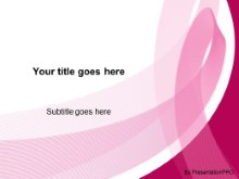 Pics for breast cancer awareness powerpoint background for Breast cancer ppt template