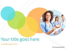 Bedside Manner PPT PowerPoint Template Background