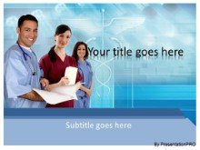 Medical 0286 PPT PowerPoint Template Background