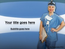 Download medical nurse PowerPoint Template and other software plugins for Microsoft PowerPoint