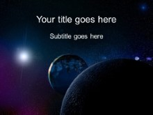 space powerpoint template background in nature powerpoint ppt slide