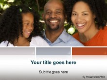 Download african american family PowerPoint Template and other software plugins for Microsoft PowerPoint