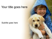 Download with puppy PowerPoint Template and other software plugins for Microsoft PowerPoint