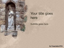 Download biblical statue PowerPoint Template and other software plugins for Microsoft PowerPoint
