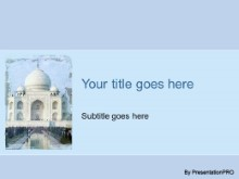 Download taj mahal PowerPoint Template and other software plugins for Microsoft PowerPoint