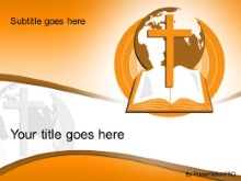 Download world religion orange PowerPoint Template and other software plugins for Microsoft PowerPoint