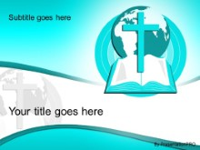 Download world religion teal PowerPoint Template and other software plugins for Microsoft PowerPoint