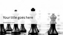 Chess BW Widescreen