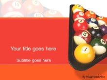 Download billards PowerPoint Template and other software plugins for Microsoft PowerPoint