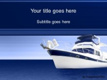 Download blue boat PowerPoint Template and other software plugins for Microsoft PowerPoint