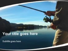 Download fishing for hobby PowerPoint Template and other software plugins for Microsoft PowerPoint