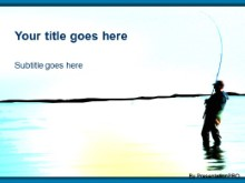 Download gone fishin 1 PowerPoint Template and other software plugins for Microsoft PowerPoint