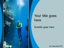 Download scuba diving PowerPoint Template and other software plugins for Microsoft PowerPoint