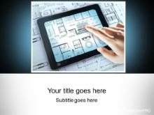PowerPoint Templates - Tablet Blueprints