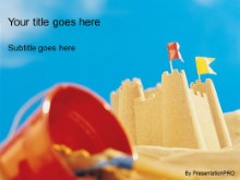 Download sand castle PowerPoint Template and other software plugins for Microsoft PowerPoint