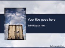 Download freight PowerPoint Template and other software plugins for Microsoft PowerPoint