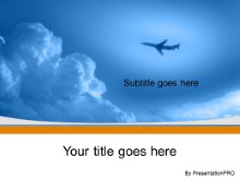 Download high altitude orange PowerPoint Template and other software plugins for Microsoft PowerPoint