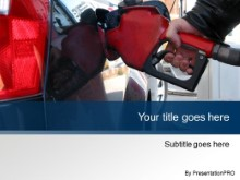 Download pumping gas blue PowerPoint Template and other software plugins for Microsoft PowerPoint