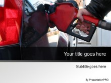 Download pumping gas gray PowerPoint Template and other software plugins for Microsoft PowerPoint